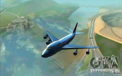 B-747 American Airlines Skin для GTA San Andreas