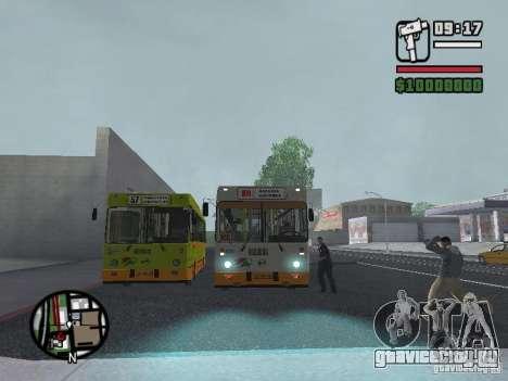 ЛИАЗ 5283.70 для GTA San Andreas вид сбоку
