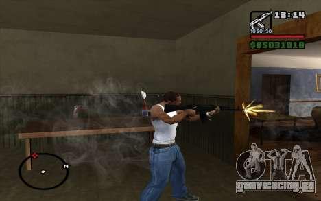 АК-74М для GTA San Andreas третий скриншот