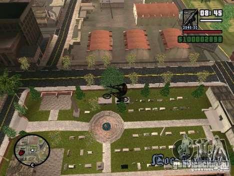 Летающие велосипеды для GTA San Andreas второй скриншот