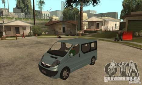 Opel Vivaro для GTA San Andreas
