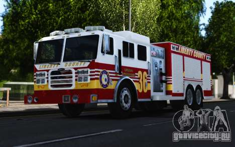 Pierce Heavy Rescue Pumper V1.4 для GTA 4