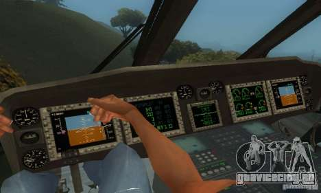 UH-60M Black Hawk для GTA San Andreas вид сбоку
