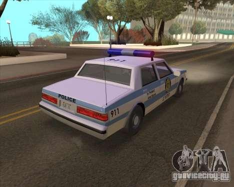 Updated LVPD для GTA San Andreas вид справа