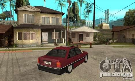 Opel Omega A для GTA San Andreas вид справа