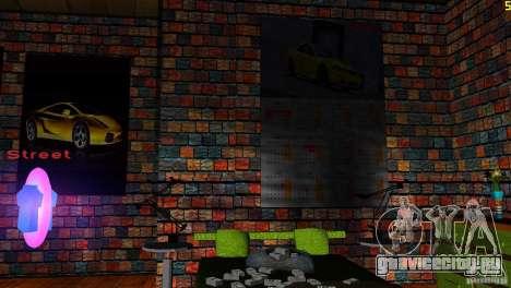 Ретекстур номера в отеле для GTA Vice City десятый скриншот