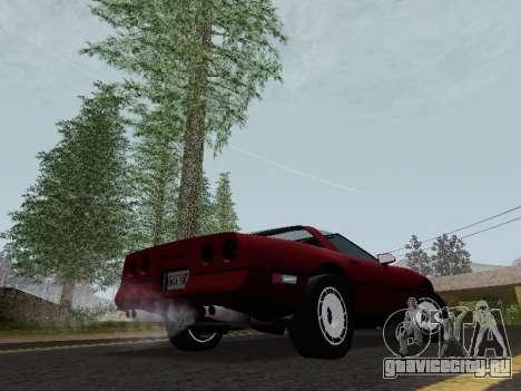 Chevrolet Corvette C4 1984 для GTA San Andreas вид справа