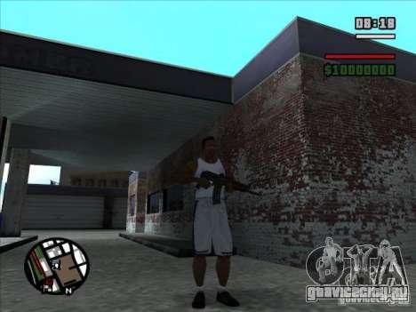 AK-74 (без приклада) для GTA San Andreas второй скриншот