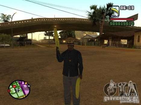 Bunana Gun для GTA San Andreas третий скриншот