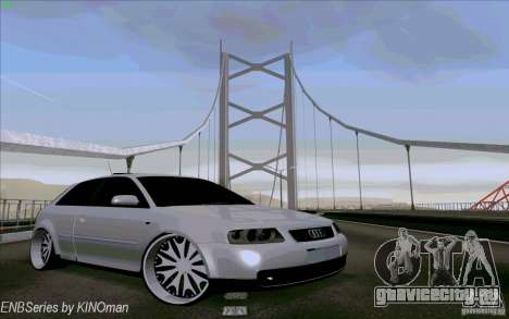Audi A3 DUB Edition для GTA San Andreas вид сбоку