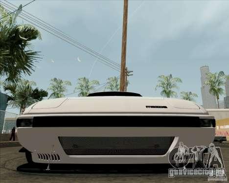 Mazda RX-7 FB Race для GTA San Andreas вид изнутри