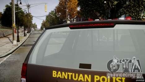 Chevrolet Tahoe Indonesia Police для GTA 4 вид сверху
