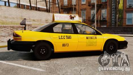 Dodge Intrepid 1993 Taxi для GTA 4 вид слева