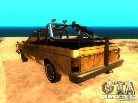 Regina War для GTA San Andreas вид слева