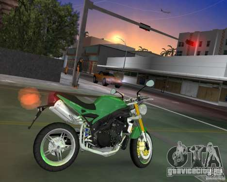 Triumph Speed Triple для GTA Vice City вид слева