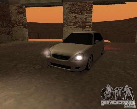 Lada Priora Хэтчбек для GTA San Andreas