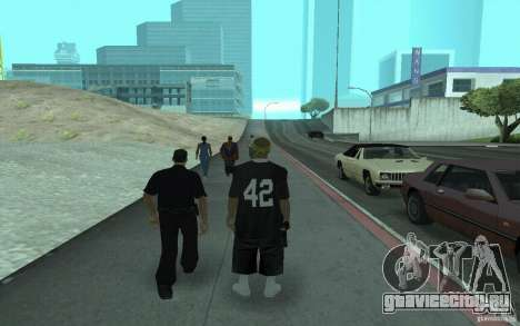 Новый скины Los Santos Vagos для GTA San Andreas второй скриншот
