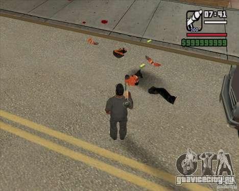 Real Ragdoll Mod Update 2011.09.15 для GTA San Andreas