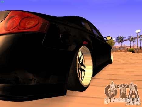 Infiniti G35 V.I.P для GTA San Andreas вид справа