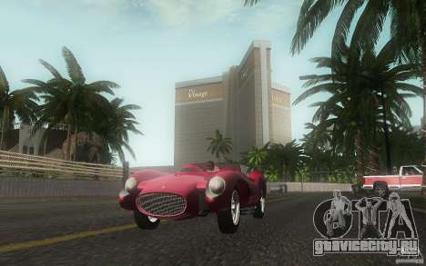 Ferrari 250 Testa Rossa для GTA San Andreas вид сбоку