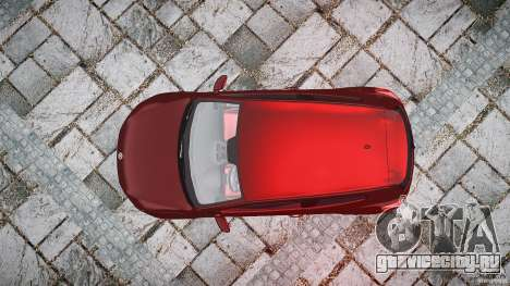 Volkswagen Scirocco 2.0 TSI для GTA 4 вид справа