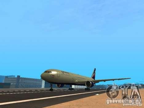Boeing 767-300 Aeroflot для GTA San Andreas