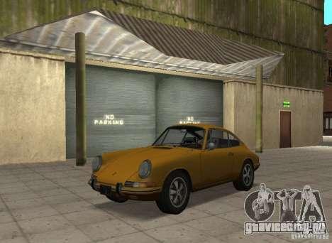 Porsche 911 S для GTA San Andreas вид сзади слева