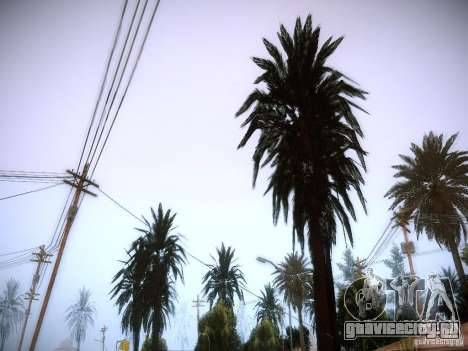 New trees HD для GTA San Andreas третий скриншот