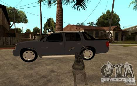 Cadillac Escalade pick up для GTA San Andreas вид слева