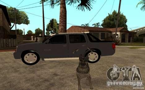 Cadillac Escalade pick up для GTA San Andreas вид слева