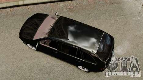 Skoda Fabia Combi Unmarked ELS для GTA 4 вид справа