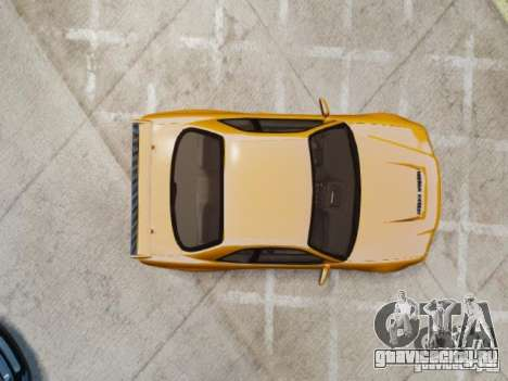 Nissan Skyline GT-R R34 Fast and Furious 4 для GTA 4 вид сзади