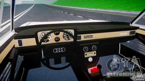 Audi 100 Coupe S для GTA 4 вид сверху