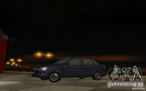 Lada Granta Stock для GTA San Andreas вид слева