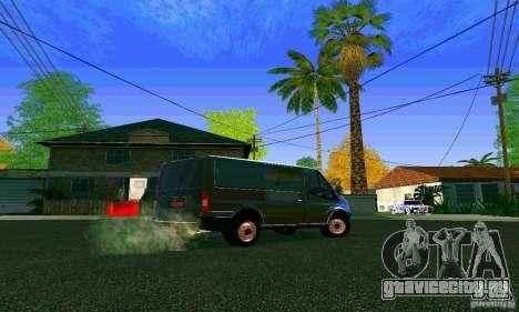 Ford Transit SWB 2011 для GTA San Andreas вид справа