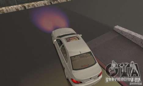 Сиреневый цвет фар для GTA San Andreas