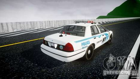 Ford Crown Victoria v2 NYPD [ELS] для GTA 4 вид сбоку