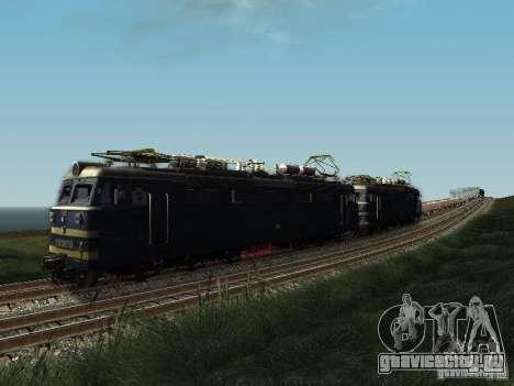 ВЛ60-839 для GTA San Andreas вид сзади слева