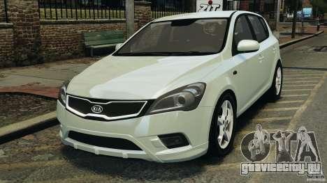 Kia Ceed 2011 для GTA 4