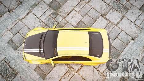 Mercedes Benz CLK63 AMG Black Series 2007 для GTA 4 вид справа