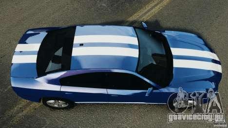 Dodge Charger Unmarked Police 2012 [ELS] для GTA 4 вид справа