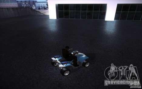 Quad Bike Custom для GTA San Andreas вид справа