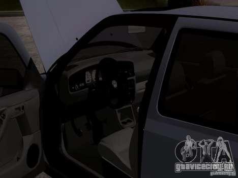 Volkswagen Golf 3 VR6 для GTA San Andreas вид сзади