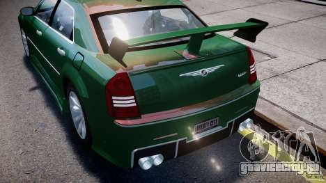 Chrysler 300C SRT8 Tuning для GTA 4 колёса
