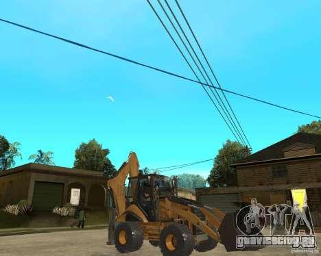 Lastik Tekerli Dozer для GTA San Andreas вид справа