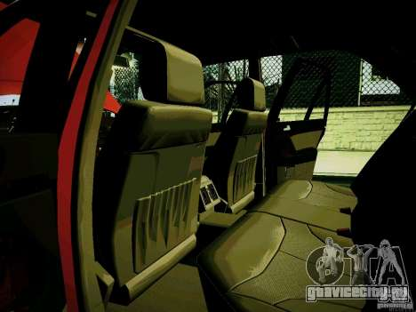 Mercedes-Benz S-Class W140 для GTA San Andreas вид изнутри