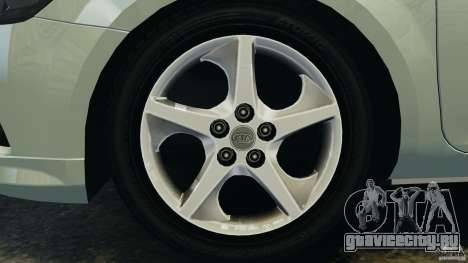 Kia Ceed 2011 для GTA 4 вид изнутри