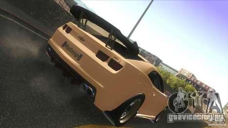 Chevrolet Camaro SS Dr Pepper Edition для GTA San Andreas вид сзади