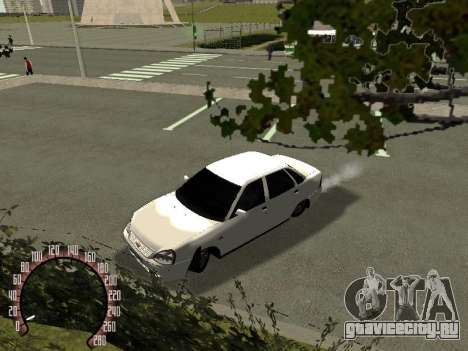 Lada Priora ВАЗ 2170 для GTA San Andreas вид слева