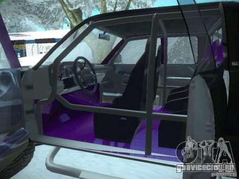 Dodge Ram Prerunner для GTA San Andreas вид сбоку